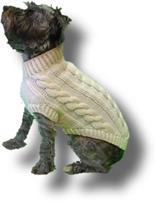 Picture of Plain Dog Sweater Pattern
